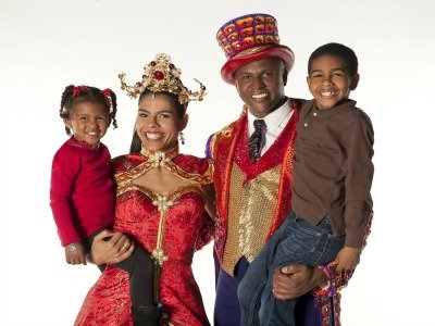Family in Circus