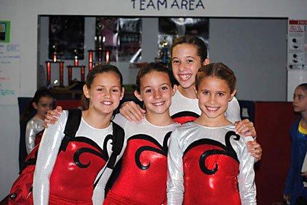 Team girls love CGA!