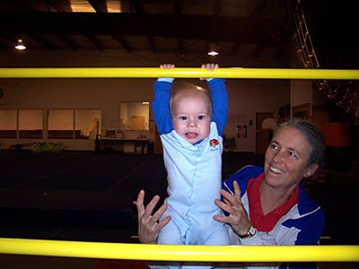 Our youngest gymnasts!