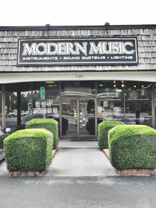 Studio Located at Modern Music