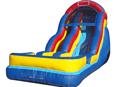 18ft Rainbow Wet Dry Slide