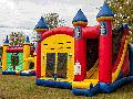 Excalibur Bounce House Slide Combo