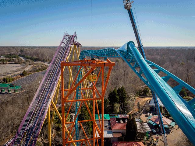Tempesto Roller Coaster