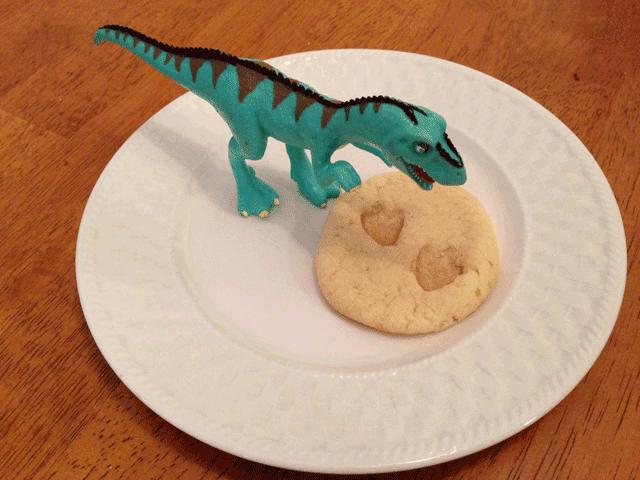 Footprint Cookies