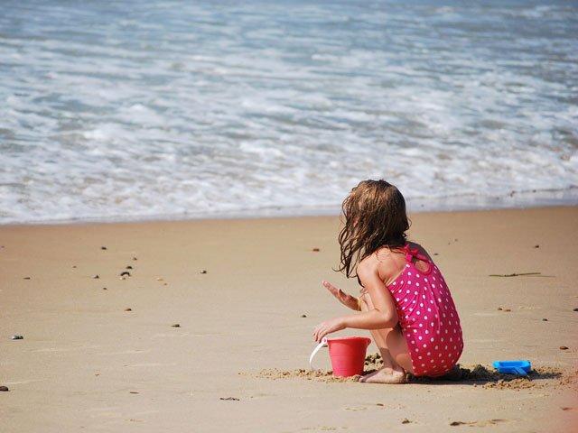 Child-at-beach