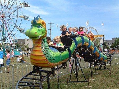 Dragon wagon ride