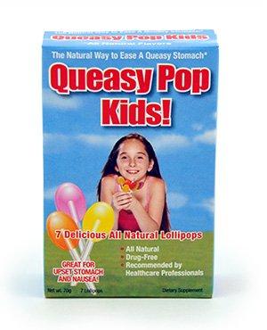 Queasy Pops box