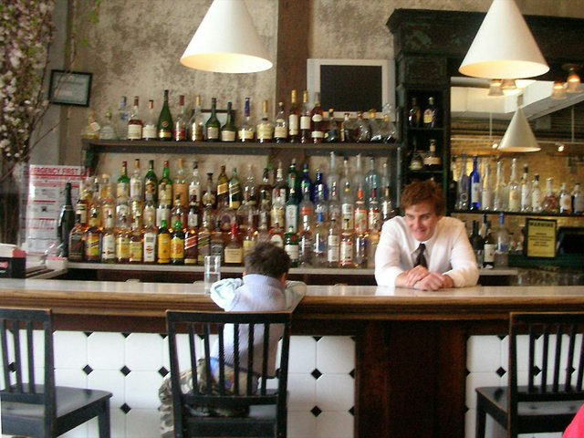 Child at Bar