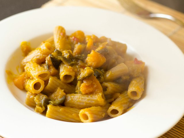 Pasta-with-pumpkin