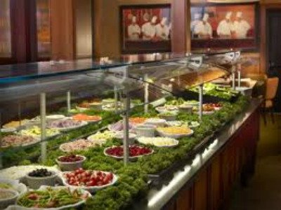 Ruby Tuesday's salad bar