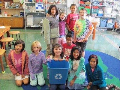 recycling kids